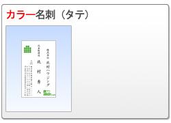 カラー名刺(タテ)